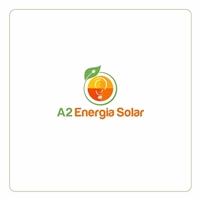A2 Energia Solar, Logo, Metal & Energia