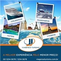 jj viagens e turismo, Peça Gráfica (unidade), Viagens & Lazer