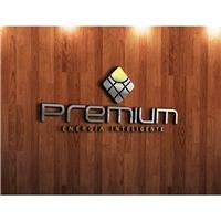 Premium - Energia Inteligente, Logo e Cartao de Visita, Metal & Energia