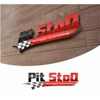 Pit StoQ Auto Peças, Logo, Automotivo