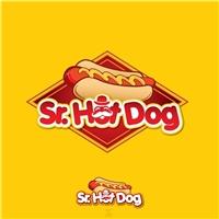Sr. Hot Dog, Logo, Alimentos & Bebidas