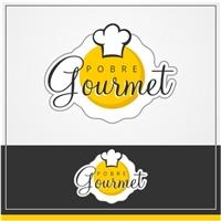 Pobre Gourmet, Logo, Alimentos & Bebidas