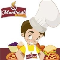 Montreal, Anúncio para Revista/Jornal, Alimentos & Bebidas