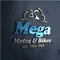 MEGA MOTOS & BIKES, Logo, Automotivo