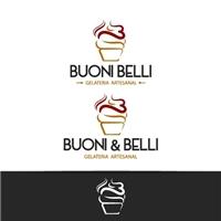 Buoni & Belli - Gelateria, Logo, Alimentos & Bebidas