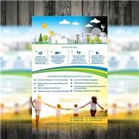 Flyer - VPS Energy, Cartao de Visita, Construção & Engenharia