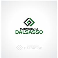 Marmoraria Dalsasso, Logo e Cartao de Visita, Decoração & Mobília