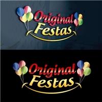 Original Festas , Logo, Crianças & Infantil