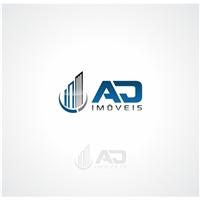 AD Imóveis, Logo e Cartao de Visita, Imóveis