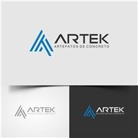 ARTEK - Artefatos de Concreto , Logo, Construção & Engenharia