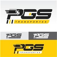 PGS Transportes, Logo e Cartao de Visita, Logística, Entrega & Armazenamento