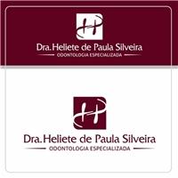 Dra Heliete de Paula Silveira, Logo e Cartao de Visita, Saúde & Nutrição