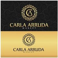 Carla Arruda Makeup, Logo e Cartao de Visita, Beleza