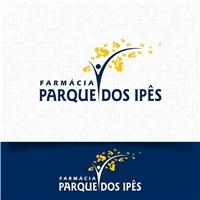 Farmacia parque dos Ipês, Logo e Cartao de Visita, Saúde & Nutrição