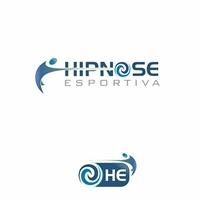 Hipnose Esportiva, Logo e Cartao de Visita, Saúde & Nutrição