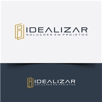 Idealizar - Soluções em Projetos, Logo e Cartao de Visita, Construção & Engenharia