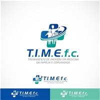 Treinamento de Imersão em Medicina da Família e Comunidade T.I.M.E.f.c, Logo e Cartao de Visita, Saúde & Nutrição