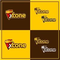 Xcone, Logo e Cartao de Visita, Alimentos & Bebidas
