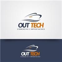OUT TECH - COMERCIO E IMPORTACOES, Logo, Tecnologia & Ciencias