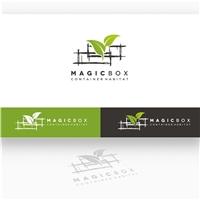 MagicBox Cont@iners      , Logo e Cartao de Visita, Arquitetura