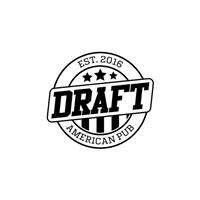 Draft American Pub, Logo e Cartao de Visita, Alimentos & Bebidas
