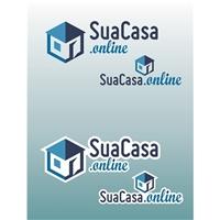 SuaCasa.online, Logo e Cartao de Visita, Imóveis
