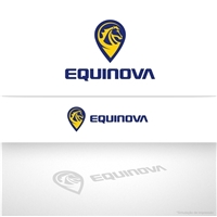 Equinova, Logo e Cartao de Visita, Animais