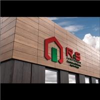 R & S CONSTRUÇÃO, Logo, Construção & Engenharia