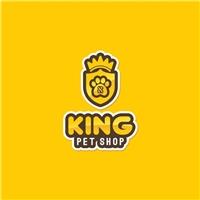 King pet shop, Logo, Animais