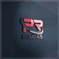 PR BOMBAS, Logo e Cartao de Visita, Construção & Engenharia