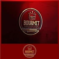 Bourmet, Logo e Cartao de Visita, Alimentos & Bebidas