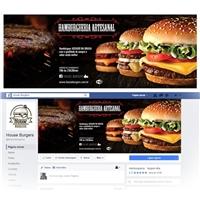 House Burgers, Modernizar Logo, Alimentos & Bebidas