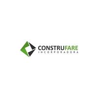 Construfare Incorporadora, Logo e Cartao de Visita, Construção & Engenharia