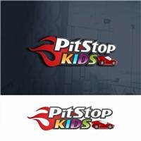PIT STOP KIDS, Logo e Cartao de Visita, Crianças & Infantil