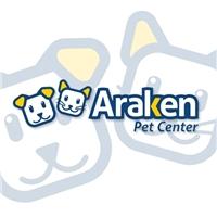 ARAKEN PET CENTER, Logo e Cartao de Visita, Animais