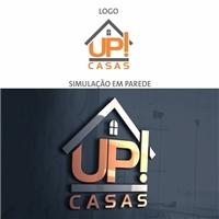UP! CASAS, Logo, Construção & Engenharia