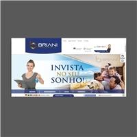 BRIANI IMÓVEIS, Layout e-Commerce, Imóveis