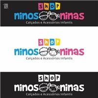 WWW.SHOPNINOSENINAS.COM.BR, Logo, Crianças & Infantil