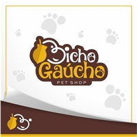 Pet Shop Bicho Gaúcho, Logo e Cartao de Visita, Animais