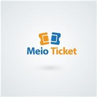 Meio Ticket, Logo e Cartao de Visita, Computador & Internet