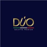 DUO    (premium ice cream ) , Logo e Cartao de Visita, Alimentos & Bebidas