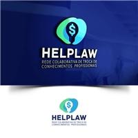 HELPLAW - REDE COLABORATIVA DE TROCA DE CONHECIMENTOS PROFISSIONAIS , Logo, Advocacia e Direito