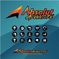 Absolut Adventure – Turismo de Aventura e Ecológico, Logo e Cartao de Visita, Viagens & Lazer