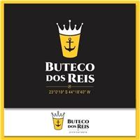 Buteco dos Reis, Logo e Cartao de Visita, Alimentos & Bebidas