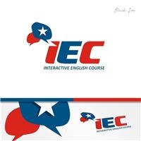 IEC  - Interactive English Course, Logo, Educação & Cursos