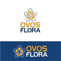 OVOS FLORA, Logo e Cartao de Visita, Alimentos & Bebidas