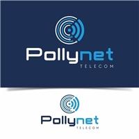 Pollynet, Logo e Cartao de Visita, Computador & Internet