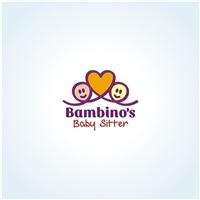 BAMBINO'S BABY SITTER, Logo e Cartao de Visita, Educação & Cursos