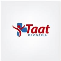 Taat Drogaria , Logo e Cartao de Visita, Saúde & Nutrição