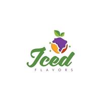 ICED FLAVORS, Logo e Cartao de Visita, Alimentos & Bebidas